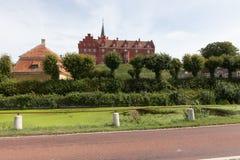 Castle σε Tranekær Στοκ φωτογραφία με δικαίωμα ελεύθερης χρήσης