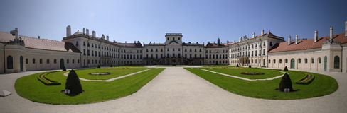 Castle στην Ουγγαρία Στοκ Εικόνες