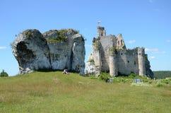 Castle στην Πολωνία (Mirà ³ W) Στοκ Φωτογραφία