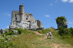 Castle στην Πολωνία (Mirà ³ W) Στοκ φωτογραφία με δικαίωμα ελεύθερης χρήσης
