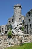 Castle στην Πολωνία (Ogrodzieniec) Στοκ Εικόνες
