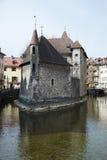 Castle στην πόλη του Annecy, Γαλλία Στοκ Εικόνες