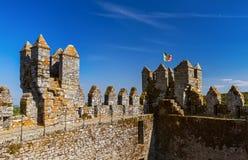 Castle στην πόλη Penedono - Πορτογαλία Στοκ φωτογραφία με δικαίωμα ελεύθερης χρήσης