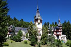 Castle στη Ρουμανία Στοκ εικόνα με δικαίωμα ελεύθερης χρήσης