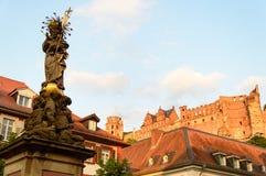 Castle στη Χαϋδελβέργη, Γερμανία Στοκ Εικόνες
