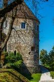 Castle στο Λουμπλιάνα, Σλοβενία Στοκ εικόνες με δικαίωμα ελεύθερης χρήσης