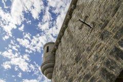 Castle την ηλιόλουστη ημέρα Στοκ φωτογραφίες με δικαίωμα ελεύθερης χρήσης