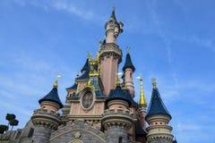 Castle της ομορφιάς ύπνου, σε Disneyland Παρίσι Στοκ Εικόνες