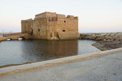 Castle της Πάφος Στοκ φωτογραφίες με δικαίωμα ελεύθερης χρήσης