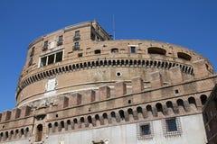Castle του αγγέλου Αγίου, Ρώμη στοκ εικόνες