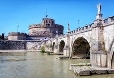 Castle του ιερού αγγέλου (Castel Sant ` Angelo) στη Ρώμη Στοκ φωτογραφία με δικαίωμα ελεύθερης χρήσης