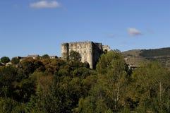 Castle του Λα Romaine, Ροδανός-Alpes, Ardeche, Γαλλία της Alba Στοκ φωτογραφία με δικαίωμα ελεύθερης χρήσης