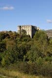 Castle του Λα Romaine, Ροδανός-Alpes, Ardeche, Γαλλία της Alba Στοκ Φωτογραφίες