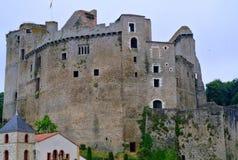 Castle του μνημείου Clisson σε Clisson Στοκ Εικόνες