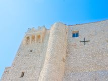 Castle του νησιού Badiali του SAN Nicola Στοκ εικόνα με δικαίωμα ελεύθερης χρήσης