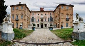 Castle του govone Στοκ φωτογραφία με δικαίωμα ελεύθερης χρήσης
