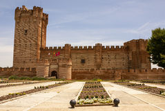 Castle του mota στο medina del campo, Βαγιαδολίδ, Ισπανία Στοκ Φωτογραφίες
