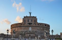 Castle του SAN Angelo Castel Sant Angelo, Ρώμη, Ιταλία στοκ φωτογραφίες