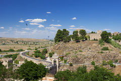 Castle του SAN Servando στο Τολέδο, Ισπανία Στοκ Φωτογραφία