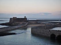 Castle του ST Gabriel, Arrecife, Lanzarote Στοκ φωτογραφία με δικαίωμα ελεύθερης χρήσης
