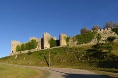 Castle του velho Montemor ο, περιοχή Beiras, Στοκ εικόνα με δικαίωμα ελεύθερης χρήσης
