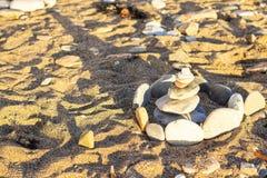 Castle των πετρών στην παραλία Μαύρης Θάλασσας στοκ φωτογραφία με δικαίωμα ελεύθερης χρήσης