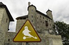 Castle των πνευμάτων στοκ φωτογραφία με δικαίωμα ελεύθερης χρήσης