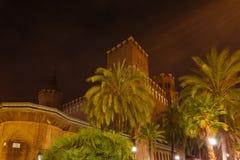 Castle των τριών δράκων, Βαρκελώνη Στοκ Φωτογραφία