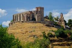 Castle - φρούριο Aracena Στοκ φωτογραφίες με δικαίωμα ελεύθερης χρήσης
