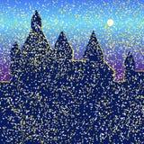 Castle φωτεινό Ελεύθερη απεικόνιση δικαιώματος