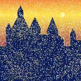 Castle φωτεινό Απεικόνιση αποθεμάτων