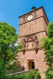 Castle Χαϋδελβέργη στη Γερμανία Στοκ φωτογραφία με δικαίωμα ελεύθερης χρήσης