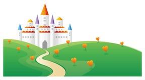 Castle royalty free illustration