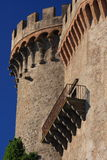 Castle. Particular of the castle of bracciano Stock Photo