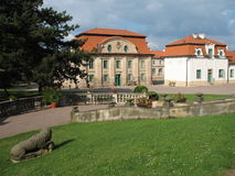 Castle. The Kings Crown castle in the Czech republic stock images