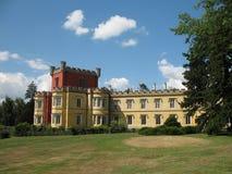 Castle. The castle Hradek u Nechanic in the Czech republic royalty free stock image
