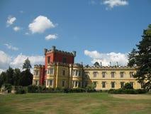 Castle. The castle Hradek u Nechanic in the Czech republic stock images