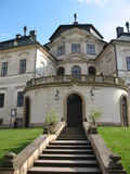 Castle. The Kings Crown castle in the Czech republic stock image