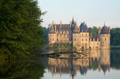 Castle. Ancient castle in Europe, architecture Stock Images