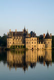 Castle. Ancient castle in Europe, architecture Royalty Free Stock Images