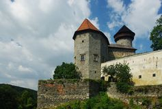 Castle. Sovinec.North Moravia,Czech republic Royalty Free Stock Photo