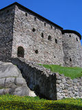 Castle. An old castle in Finland Stock Photography