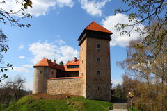 Castle. Old castle Dubovac in Karlovac, Croatia, Europe Royalty Free Stock Image