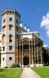 Castle. Hluboka nad Vltavou in the Czech Republic stock photos