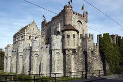 Castle. In the centre of the city ghent Stock Image