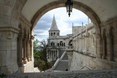Castle. Fisherman's bastion, Budapest Royalty Free Stock Photo