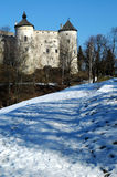 Castle. Medieval castle in Poland. View Stock Photography