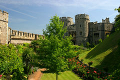 Castle. Garden in the windsor castle Royalty Free Stock Photography