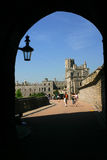 Castle. Path in the windsor castle Royalty Free Stock Images