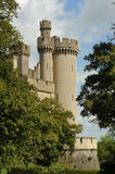 Castle. Photograph of a castle,shot in natural light Stock Photography